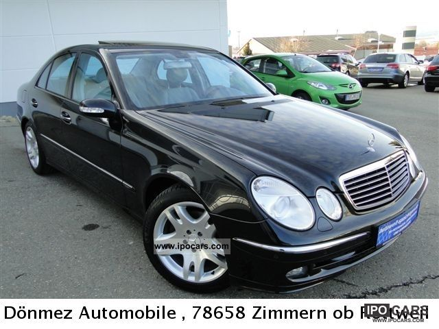 2005 mercedes benz e320 4matic avant leather memory for Mercedes benz e320 4matic