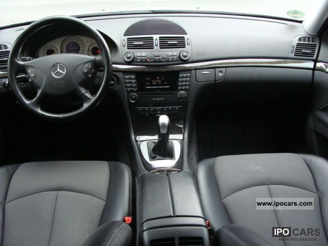 2004 mercedes-benz e 220 cdi avantgarde leather ° ° ° xenon 6 speed
