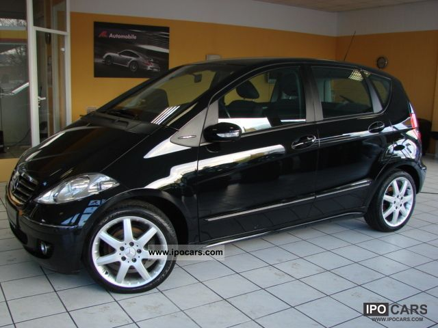 2004 mercedes benz a 150 avantgarde partial leather car. Black Bedroom Furniture Sets. Home Design Ideas