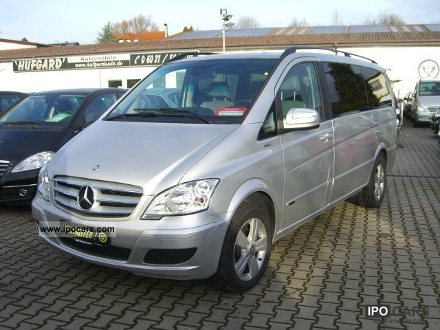 2010 mercedes benz viano cdi 2 2 trend long edition 7 for Mercedes benz two seater