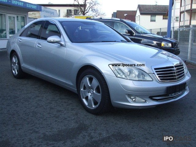 2006 Mercedes Benz S 500 7g Tronic Car Photo And Specs