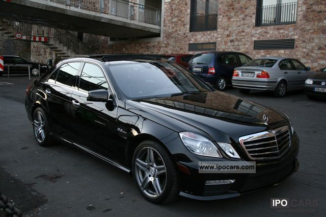 2010 Mercedes Benz E 63 Amg 7g Tronic Panoramic Night