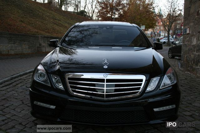 2010 mercedes benz e 63 amg 7g tronic panoramic night for Mercedes benz night vision