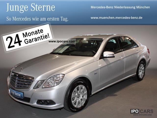 2010 mercedes benz e 200 cdi parktronic automatic climate for Mercedes benz parktronic