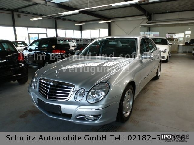 2007 Mercedes-Benz  E 200 Kompressor Avantgarde like new! Limousine Used vehicle photo