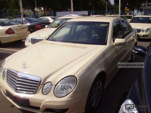 2006 mercedes benz e 200 cdi automatic new model car for Mercedes benz 2006 models