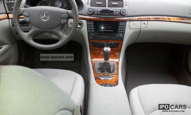 2007 Mercedes Benz E 220 Cdi Elegance Dpf Car Photo And