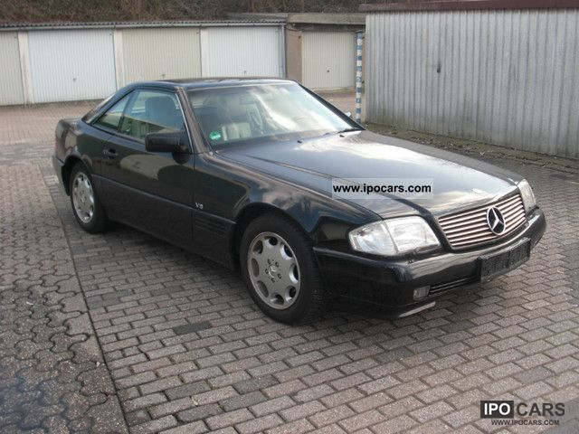 1992 mercedes benz 500 sl car photo and specs. Black Bedroom Furniture Sets. Home Design Ideas