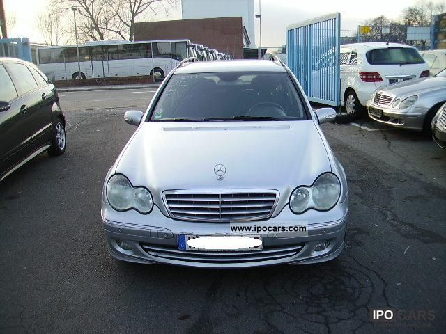 2005 mercedes benz c 220 cdi elegance auto car photo and specs. Black Bedroom Furniture Sets. Home Design Ideas
