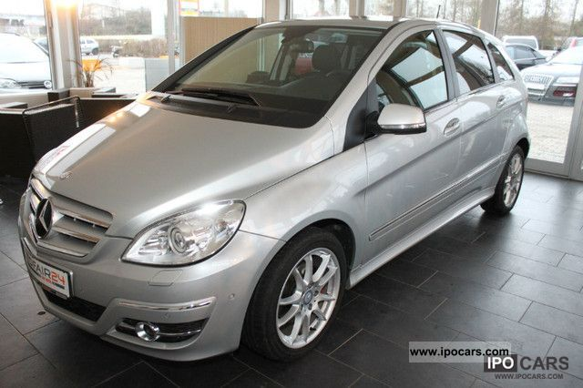 Mercedes-Benz  B-Class B 200Turbo/Leder/Panoramadach/Autotroni 2010 Liquefied Petroleum Gas Cars (LPG, GPL, propane) photo