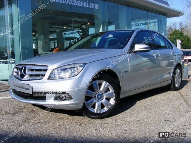2009 mercedes benz c 220 cdi blueefficiency elegance car photo and specs. Black Bedroom Furniture Sets. Home Design Ideas