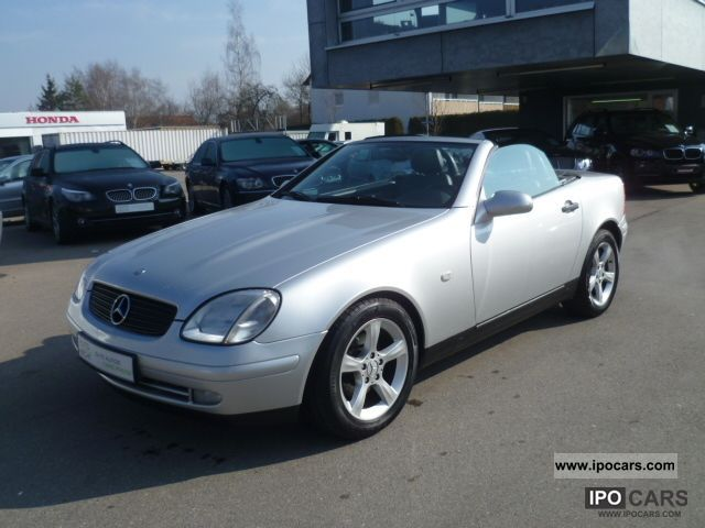 1998 mercedes benz slk 230 k air leather car photo and specs. Black Bedroom Furniture Sets. Home Design Ideas