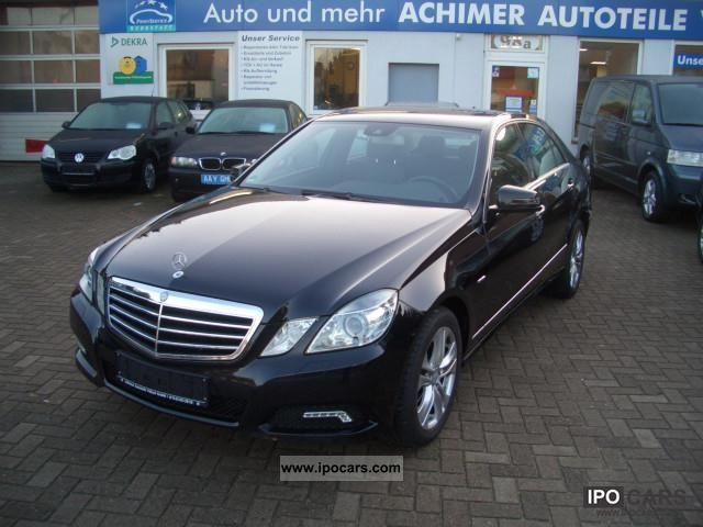 2010 mercedes benz e 200 cdi blueefficiency dpf avantgarde auto car photo and specs. Black Bedroom Furniture Sets. Home Design Ideas