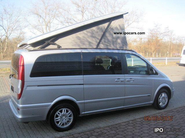 2004 mercedes benz viano 2 2 cdi long fun sth climate roof 7sitze bed car photo and specs. Black Bedroom Furniture Sets. Home Design Ideas