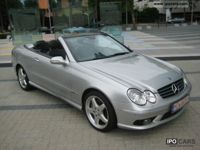 2003 Mercedes Benz Clk 500 Convertible Avantgarde Amg