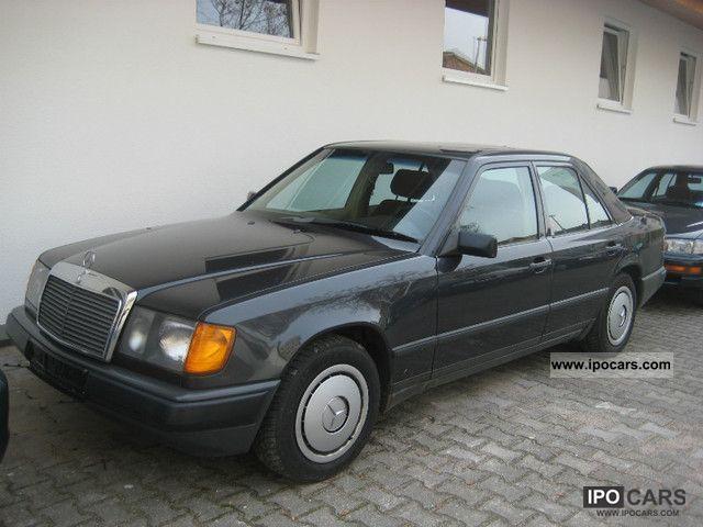1988 mercedes benz 260 e 124 car photo and specs for Mercedes benz 260