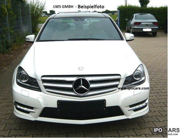 2011 Mercedes-Benz  C 220 CDI AMG SPORT PACKAGE-BlueEFF. / WHEEL 18'' -15% Limousine New vehicle photo