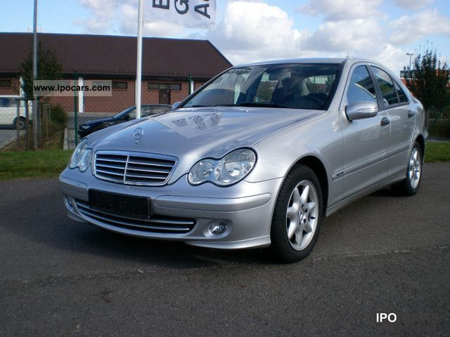 2005 mercedes benz c 200 kompressor automatic top condition car photo and specs. Black Bedroom Furniture Sets. Home Design Ideas