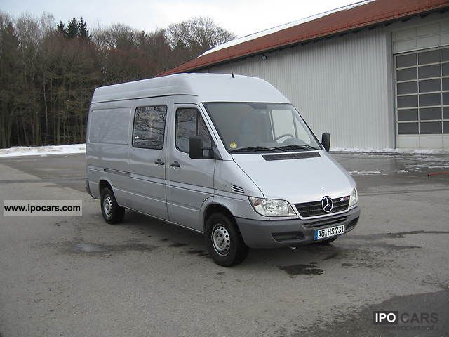 2004 mercedes benz 313 cdi sprinter 903 672 car photo and specs. Black Bedroom Furniture Sets. Home Design Ideas