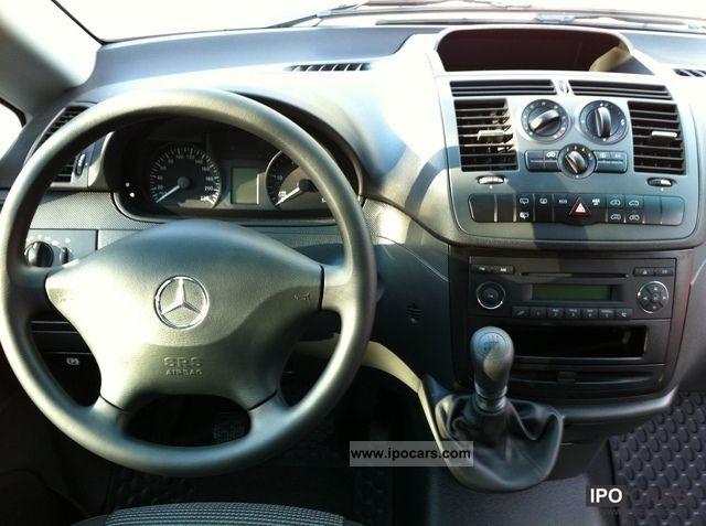 2011 Mercedes Benz Vito 113 Cdi Long Blueefficiency Ahk 9 Seats Car Photo And Specs