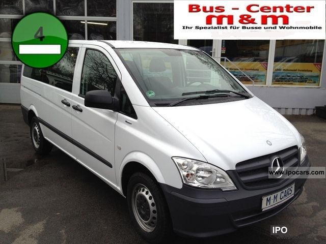 2012 Mercedes-Benz  Vito 110 CDI Long 9 seater Blueefficiency Van / Minibus Employee's Car photo