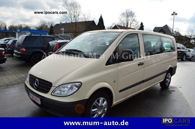2004 MercedesBenz Vito 115 CDI Extra Long Aut 9seater  Car