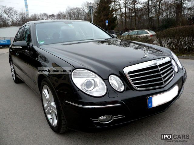 2008 mercedes benz e 220 cdi avantgarde automatic bi xenon comand car photo and specs. Black Bedroom Furniture Sets. Home Design Ideas