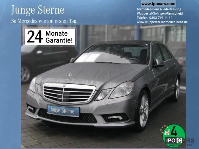 2011 Mercedes-Benz  E 350 CDI 4M BE leather AMG sport package Comand DPF Limousine Used vehicle photo