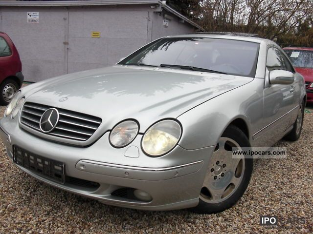Mercedes-Benz  CL 600 \ 2000 Liquefied Petroleum Gas Cars (LPG, GPL, propane) photo