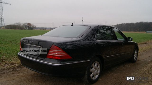 2004 mercedes benz s 320 cdi l car photo and specs for Mercedes benz gas chambers