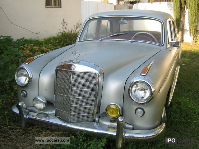 Mercedes-Benz  220 S Ponton 1958 Vintage, Classic and Old Cars photo