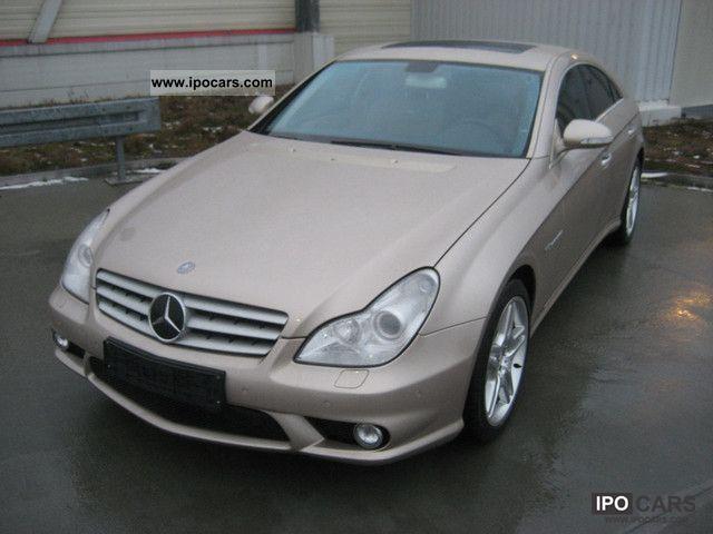 2005 Mercedes Benz Cls 55 Amg Keyless Navi Leather