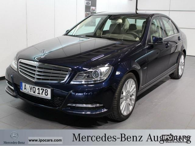 2012 mercedes benz c 200 cdi elegance leather xenon be for Mercedes benz parktronic