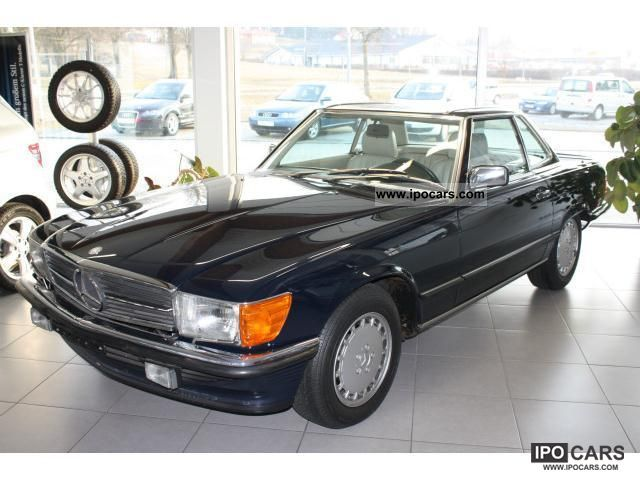 1987 mercedes benz sl 500 only 1500 km car photo and specs. Black Bedroom Furniture Sets. Home Design Ideas