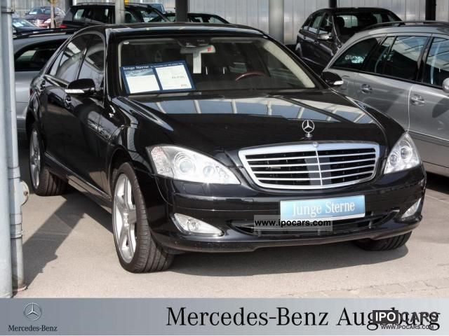 2009 mercedes benz s 500 l 4m based night vision airmatic for Mercedes benz night vision