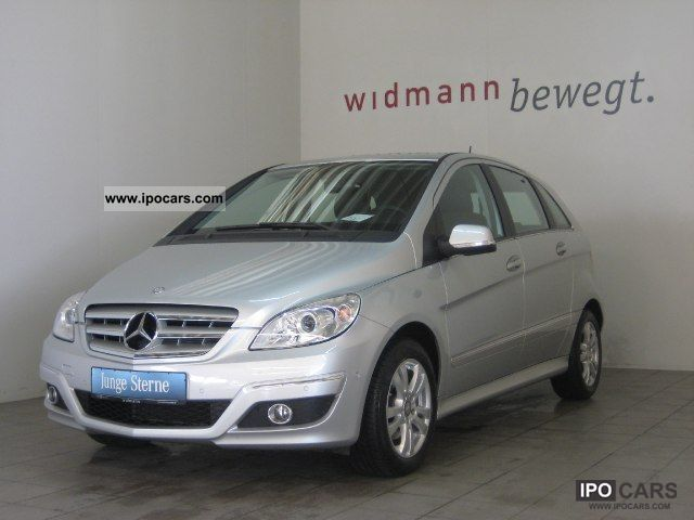 2010 mercedes benz b 200 chrome package auto leather for Mercedes benz parktronic