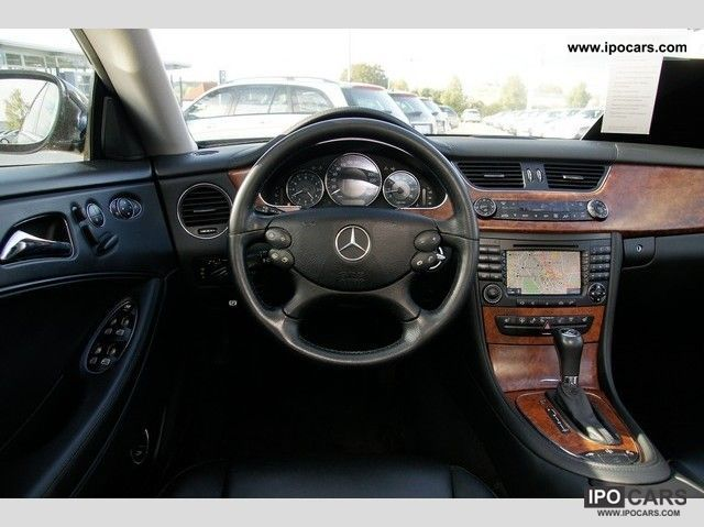 2007 Mercedes Benz Cls 500 Cp Navi Xenon Leather Car