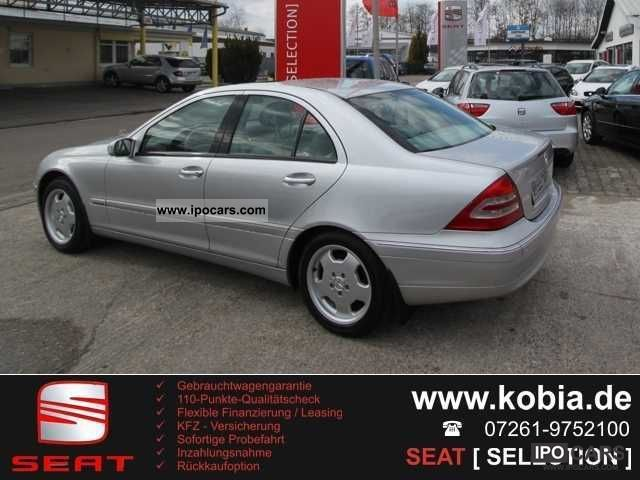 2001 mercedes benz c class c 240 silver leather sunroof for Mercedes benz c class 240