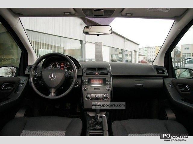 2007 mercedes benz a 150 car photo and specs. Black Bedroom Furniture Sets. Home Design Ideas