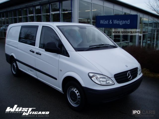 2008 mercedes benz vito 109 cdi mixto l doors heater 6 s car photo and specs. Black Bedroom Furniture Sets. Home Design Ideas