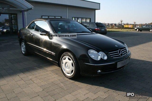 2004 mercedes benz clk 240 convertible avantgarde for Mercedes benz clk 240