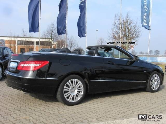 2010 mercedes benz e 200 cgi becabrio automatic climate aps50 pts car photo and specs. Black Bedroom Furniture Sets. Home Design Ideas