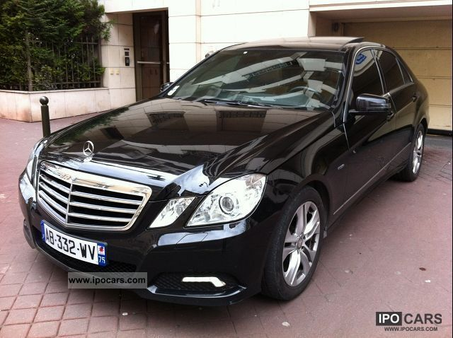 2009 mercedes benz e class e 220 cdi avantgarde be execute. Black Bedroom Furniture Sets. Home Design Ideas