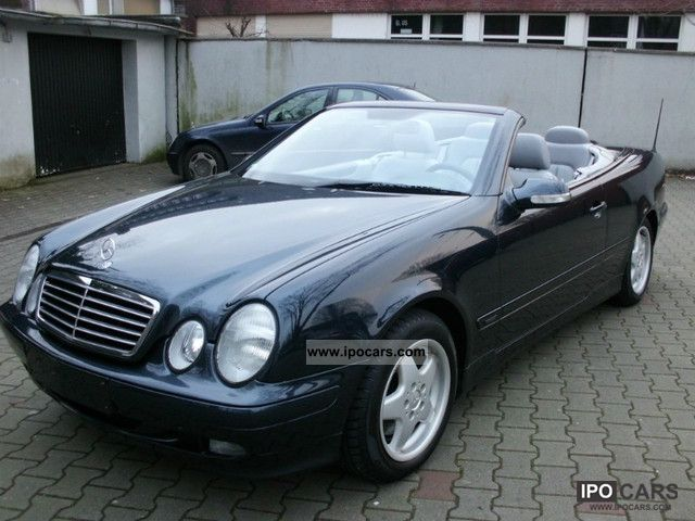 2001 mercedes benz clk 200 k avantgarde leather checkbook. Black Bedroom Furniture Sets. Home Design Ideas