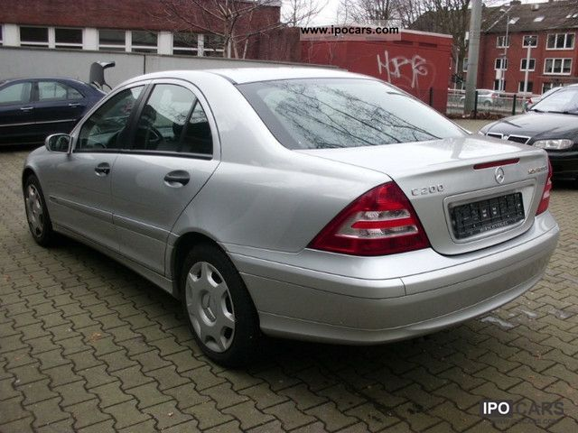 2004 Mercedes Benz C 200 K Air Rostrei Facelift Checkbook