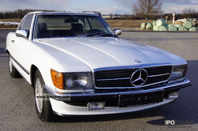 1987 mercedes benz sl 500 original condition convertible. Black Bedroom Furniture Sets. Home Design Ideas
