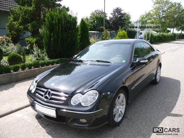 2005 mercedes benz clk 280 avantgarde car photo and specs for Mercedes benz coupe 2005