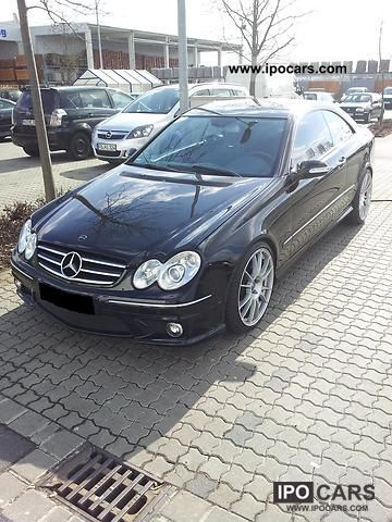 2003 mercedes benz clk 55 amg coupe 63 amg facelift car. Black Bedroom Furniture Sets. Home Design Ideas
