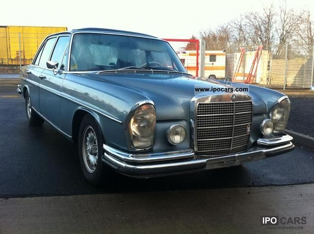 Mercedes-Benz  S 280 petrol automatic vintage H-approval 1971 Vintage, Classic and Old Cars photo