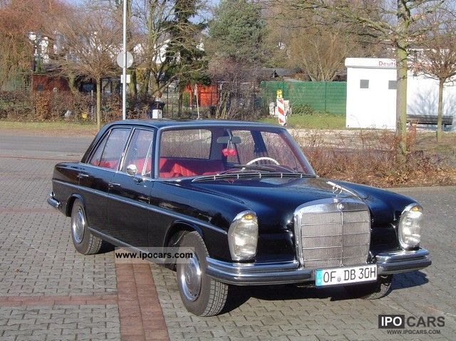 Mercedes-Benz  250 SE 1967 Vintage, Classic and Old Cars photo